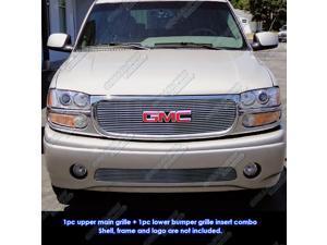 99-06 GMC Yukon/Denali/99-02 Sierra Billet Grille Grill Combo Insert   # G61075A