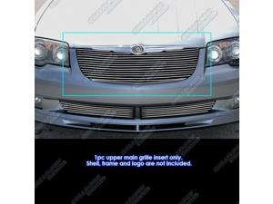 Fits 2004-2008 Chrysler Crossfire Billet Grille Grill Insert #R86525A