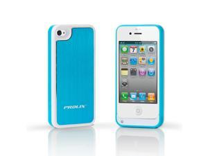 Prolix Power iPhone 4/4S External Battery Case - Fits all versions of iPhone 4 - Aluminum (Blue)
