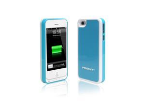 Prolix Power iPhone 4/4S External Battery Case - Fits all versions of iPhone 4 - (Blue/White)