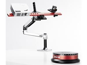 Bundle DAVID SLS-2 3D Scanner + TT-1 Automatic Turntable + DSL-1 Desk Scan Lever