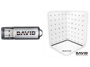 Bundle DAVID4 PRO USB - 3D Scanning Software + Calibration Panels Set