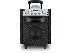 Wireless Tailgate Speaker w/ Disco Ball - ILIVE-ISB785B