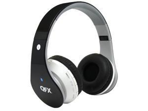 QFX, Inc. Bt Stereo Headphoneones With Mic Black - H-251BTBLACK