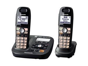 PANASONIC KX-TG6592T DECT 6.0 PLUS CORDLESS AMPLIFIED PHONE (2-HANDSET SYSTEM)