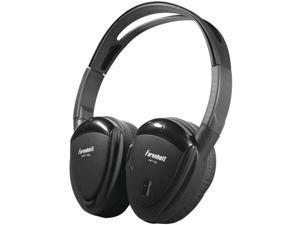 POWER ACOUSTIK HP-12S 2-Channel Wireless IR Headphones - HP-12S