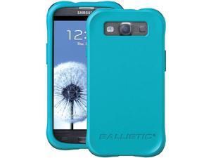 BALLISTIC LS0950-M075 Samsung(R) Galaxy S(R) III LS Smooth Case (Teal&#59; 4 purple, 4 teal, 4 white & 4 black bumpers)