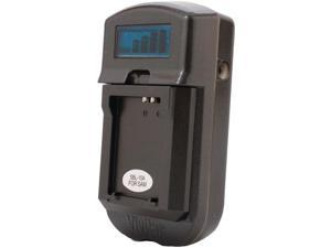 Vivitar Viv-sc-3100-c Lcd Battery Charger For Canon(r) Batteries (black)