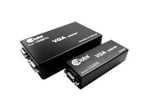 CE LABS VG5EKL VGA Over CAT-5 Extender Kit with Loop Through