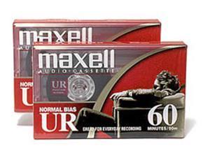 Normal Bias Audiocassette - 60 Minutes, 2 Pack