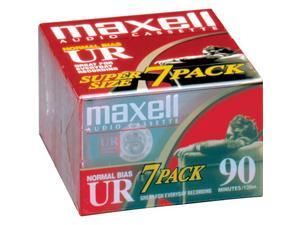 Normal Bias Audiocassette Multi Pack - 7 Pack - 90 Minutes