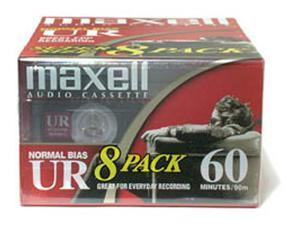 Normal Bias Audiocassette Multi Pack - 8 Pack - 60 Minutes