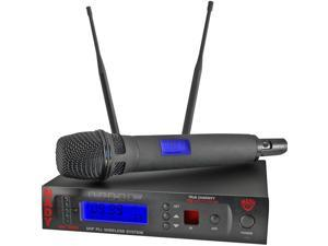 1000-Channel UHF Wireless Handheld Microphone System
