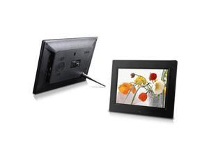 8-Inch Digital Photo Frame, multimedia player, 5 star product (Black)