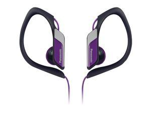 PANASONIC RP-HS34-V Sweat-Resistant Sports Earbuds (Purple)