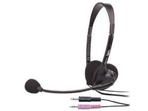 Black OEM Stereo Headset/Mic