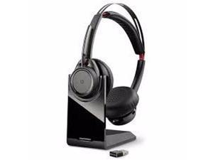 Plantronics(R) Voyager Focus UC On-Ear Headphones, Microsoft(R), Black