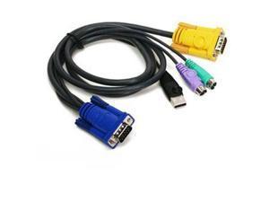 IOGear Ps 2 USB Kvm Cable 6' - G2L5302UP