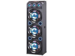 "QFX, Inc. 3x12"" Pa Speakers Blue - SBX-412300-BT-BLUE"