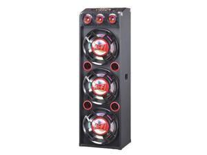 "QFX, Inc. 3x12"" Pa Speakers Red - SBX-412300-BT-RED"