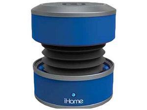 iHome Bluetooth Mini Speaker Blue - IBT60LY