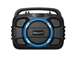 Supersonic Bluetooth Soundbox Blue - IQ-2400BTBLU
