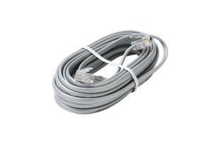 4C 25' Silver Data Modular Cable - ST-304-725SL