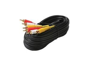 6' St VCR Cable Nickel 3x Shielded - ST-206-276