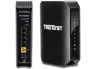 TRENDnet Wireless N600 Dual Band Router - TEW-752DRU