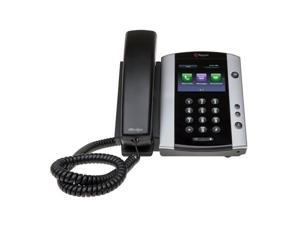 VVX 500 12-Line Phone with Power Supply - PY-2200-44500-001
