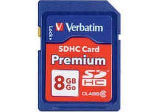 8GB SECURE DIGITAL HI CAP MEM CD CLASS 6 - 96318