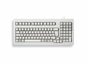 Compact Corded Keyboard Light Gray - G80-1800LPCEU-0