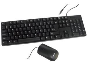 USB OPTICAL MOUSE KEYBOARD COMBOSET - 70126
