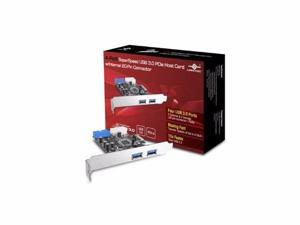 VANTEC 4-PORT USB 3.0 PCIE W/INTERNAL 20 - UGT-PC345