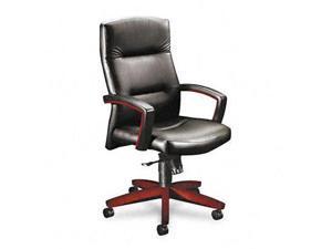HON 5000 Series Park Avenue Collection Executive High-Back Swivel/Tilt Leather Chair - HON5001NSS11