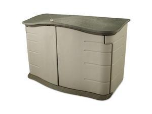 Rubbermaid Horizontal Outdoor Storage Shed - RUB3748