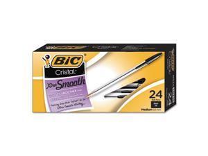 BIC Cristal Xtra Smooth Ballpoint Pen - BICMS241BK