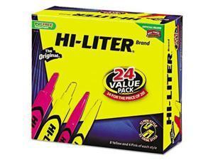 HI-LITER Desk Style Highlighters - AVE29862
