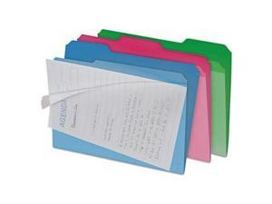 find It Clear View Interior File Folders - IDEFT07187