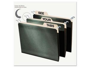 find It Hanging File Folders with Innovative Top Rail - IDEFT07033