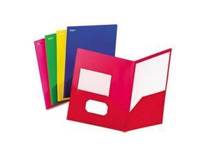 Oxford Fashion Poly Twin-Pocket Folder - OXF99810