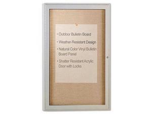 Ghent Enclosed Outdoor Bulletin Board - GHEPA13624VX181
