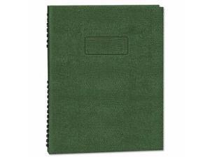 Blueline EcoLogix NotePro Executive Notebook - REDA7150EGRN