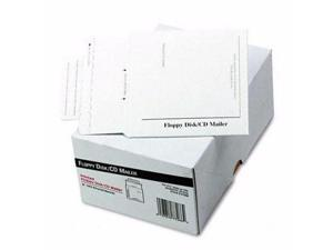 Quality Park Disk/CD Foam-Lined Mailers - QUAE7266