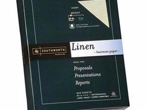 Southworth 25% Cotton Linen Business Paper - SOU564C