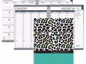 House of Doolittle Recycled Monthly/Weekly Hardcover Planner - HOD29594