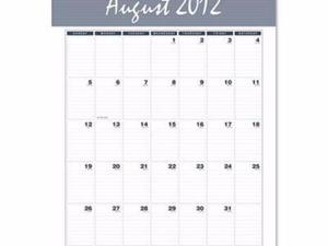 House of Doolittle Bar Harbor 100% Recycled Wirebound Monthly Wall Calendar - HOD353