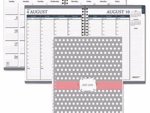 House of Doolittle Recycled Monthly/Weekly Hardcover Planner - HOD29593