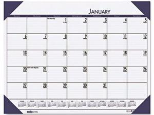 House of Doolittle EcoTones 100% Recycled Monthly Desk Pad Calendar - HOD12440
