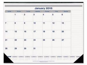 Blueline Net Zero Carbon Monthly Desk Pad Calendar - REDC177847